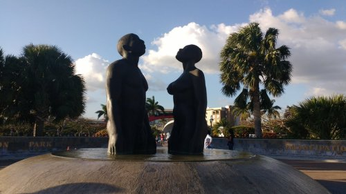 emancipation park in JA